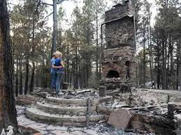 Black forest fire aftermath