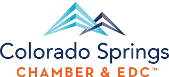 Colorado Springs Chamber of Commerce and EDC logo